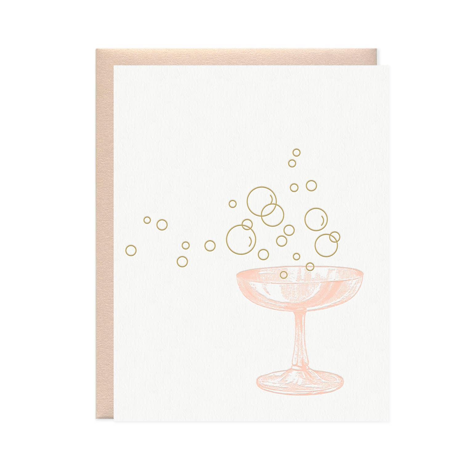 Champagne Bubbles Card | Trada Marketplace