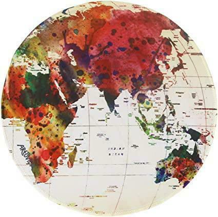 Mouse Pad - Mark Ashkenazi - World Map | Trada Marketplace