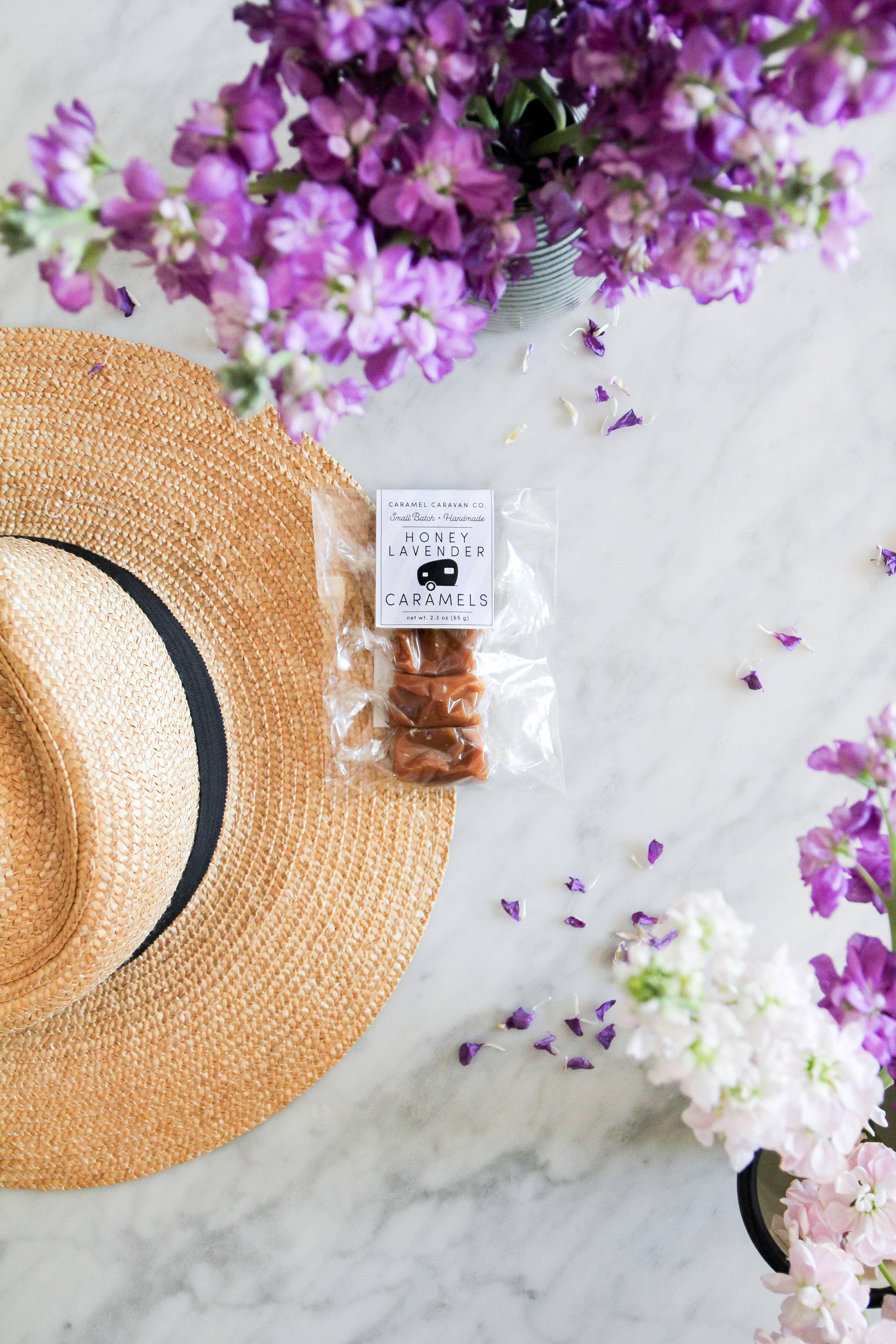 Honey Lavender Caramels - 4 Piece Bag | Trada Marketplace