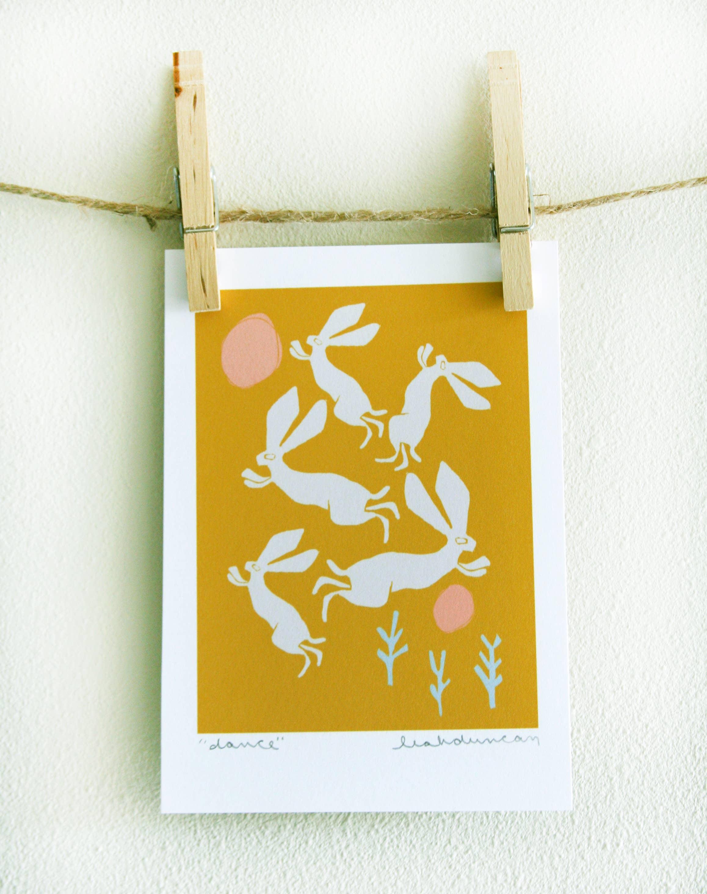 Dance Art Print | Trada Marketplace
