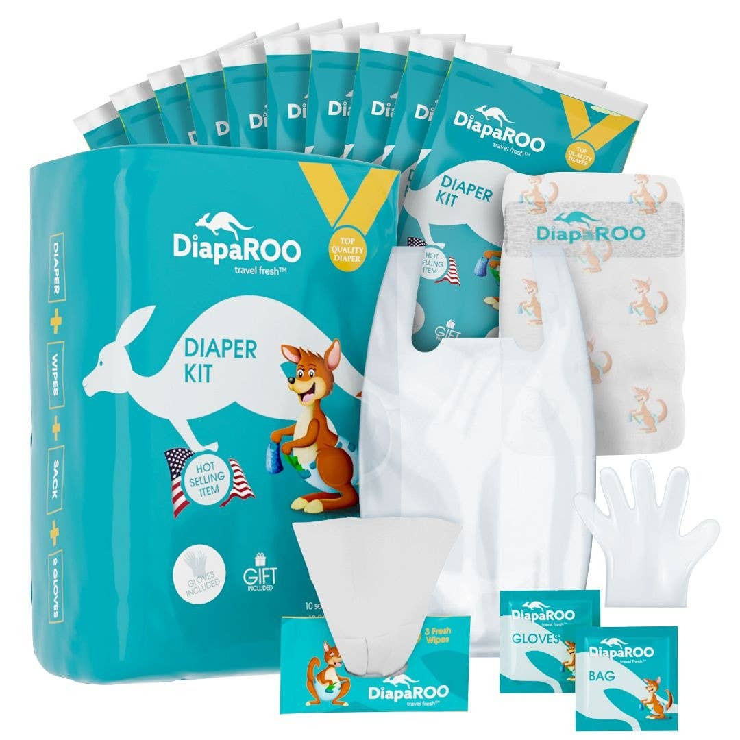 Diaper Changing Travel Kit Bulk Pack | Trada Marketplace