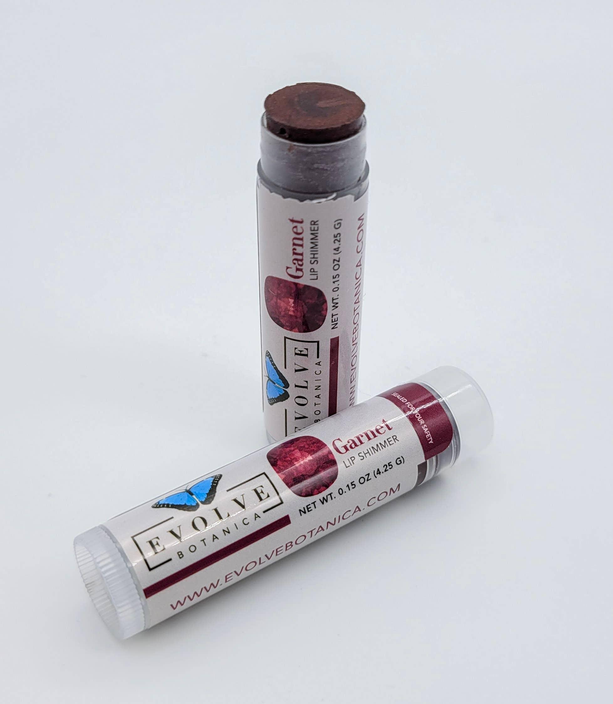 Evolve - Lip Balm - Natural Shimmer Tint - Garnet | Trada Marketplace