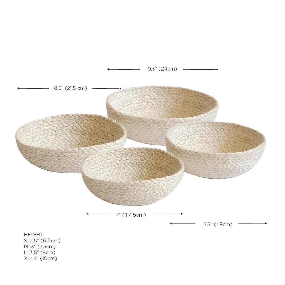 Kata Candy Bowl - White (Set of 4) | Trada Marketplace