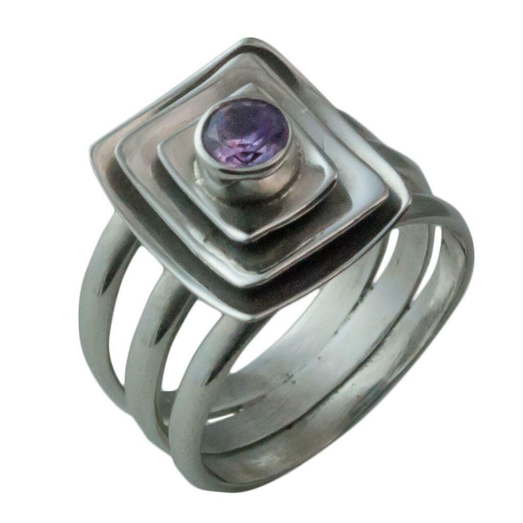 20% OFF Astro Amethyst Sterling Ring   Trada Marketplace