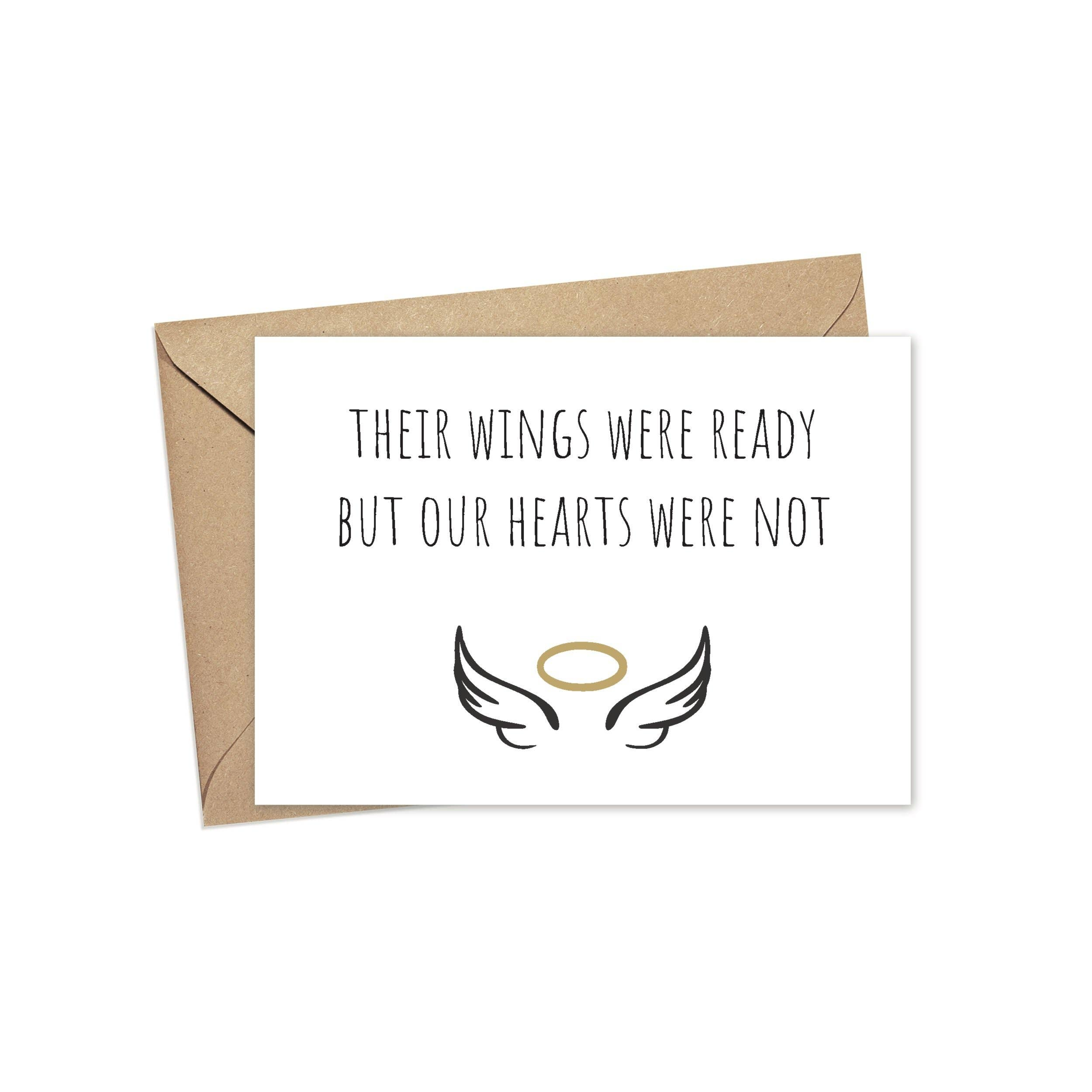 Their Wings Were Ready But Our Hearts Were Not | A2 | Trada Marketplace