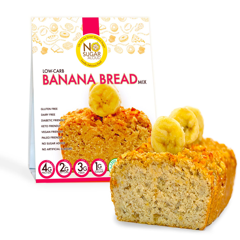 Low Carb Banana Bread Mix   Trada Marketplace