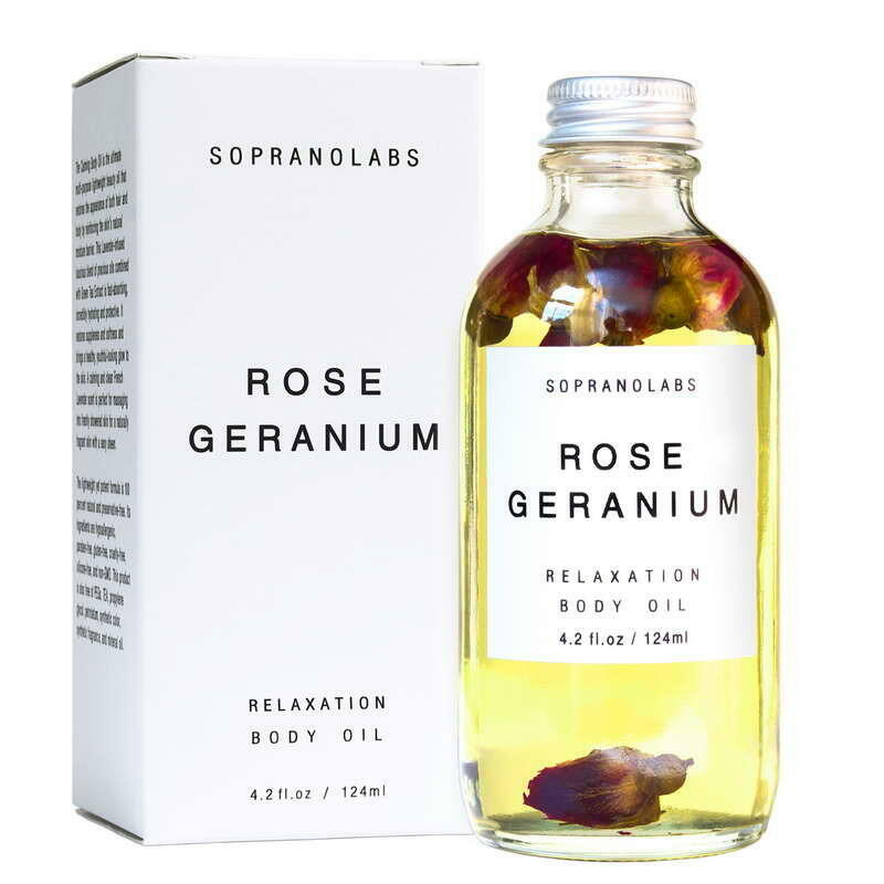 Rose Geranium Body Oil. SPA Gift for her   Trada Marketplace
