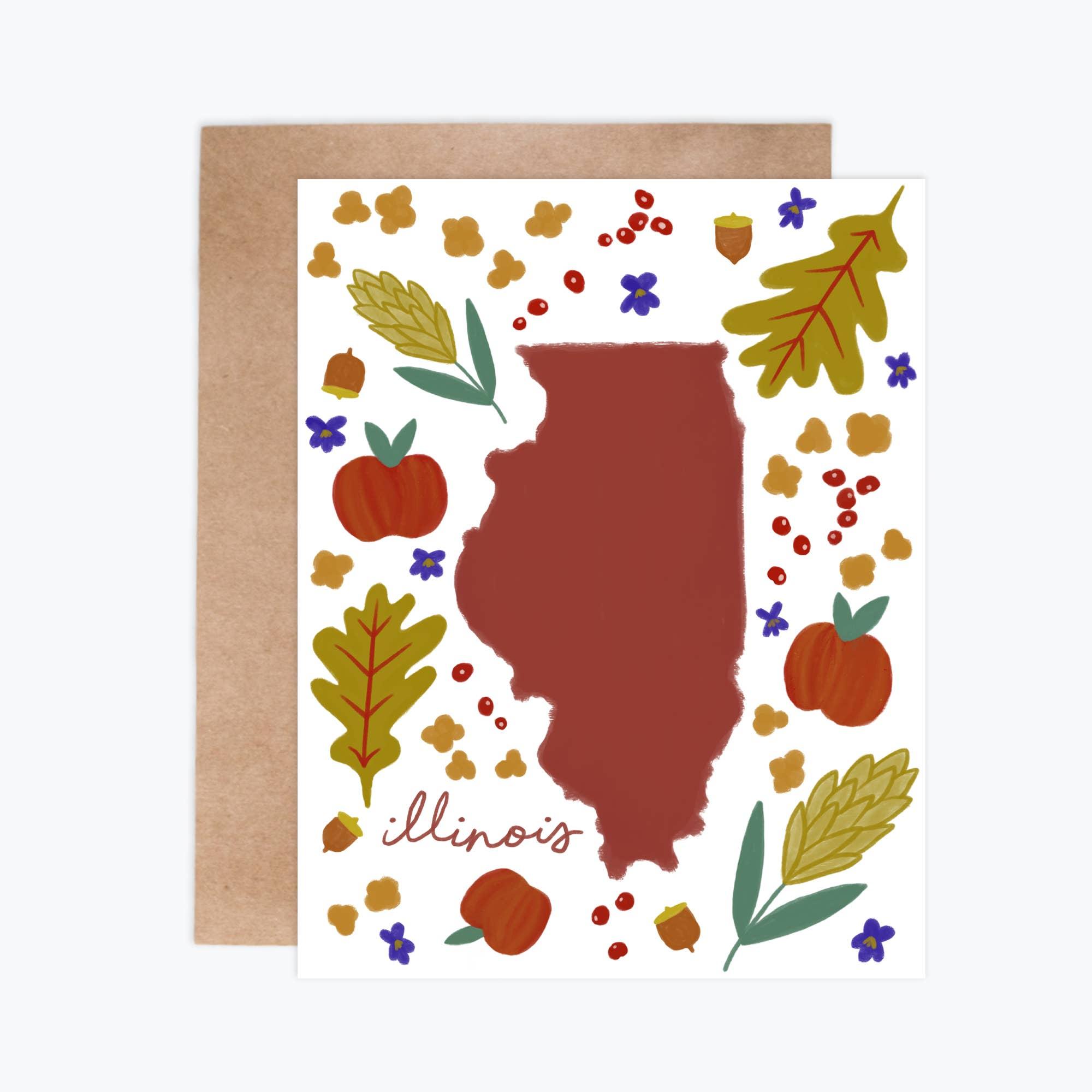 Illinois Fresh State - Notecards   Trada Marketplace