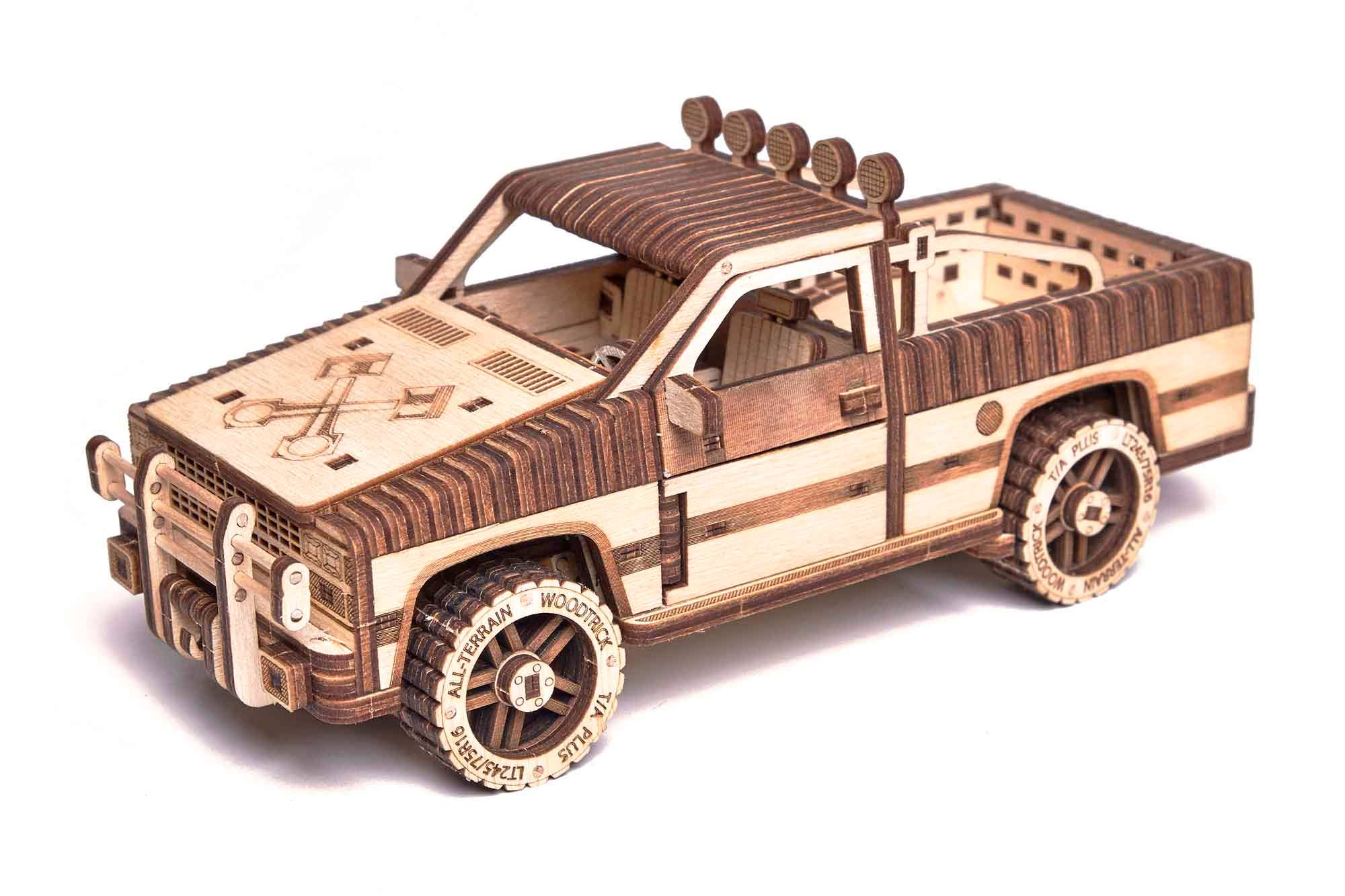 Pickup Truck WT-1500 Puzzle | Trada Marketplace