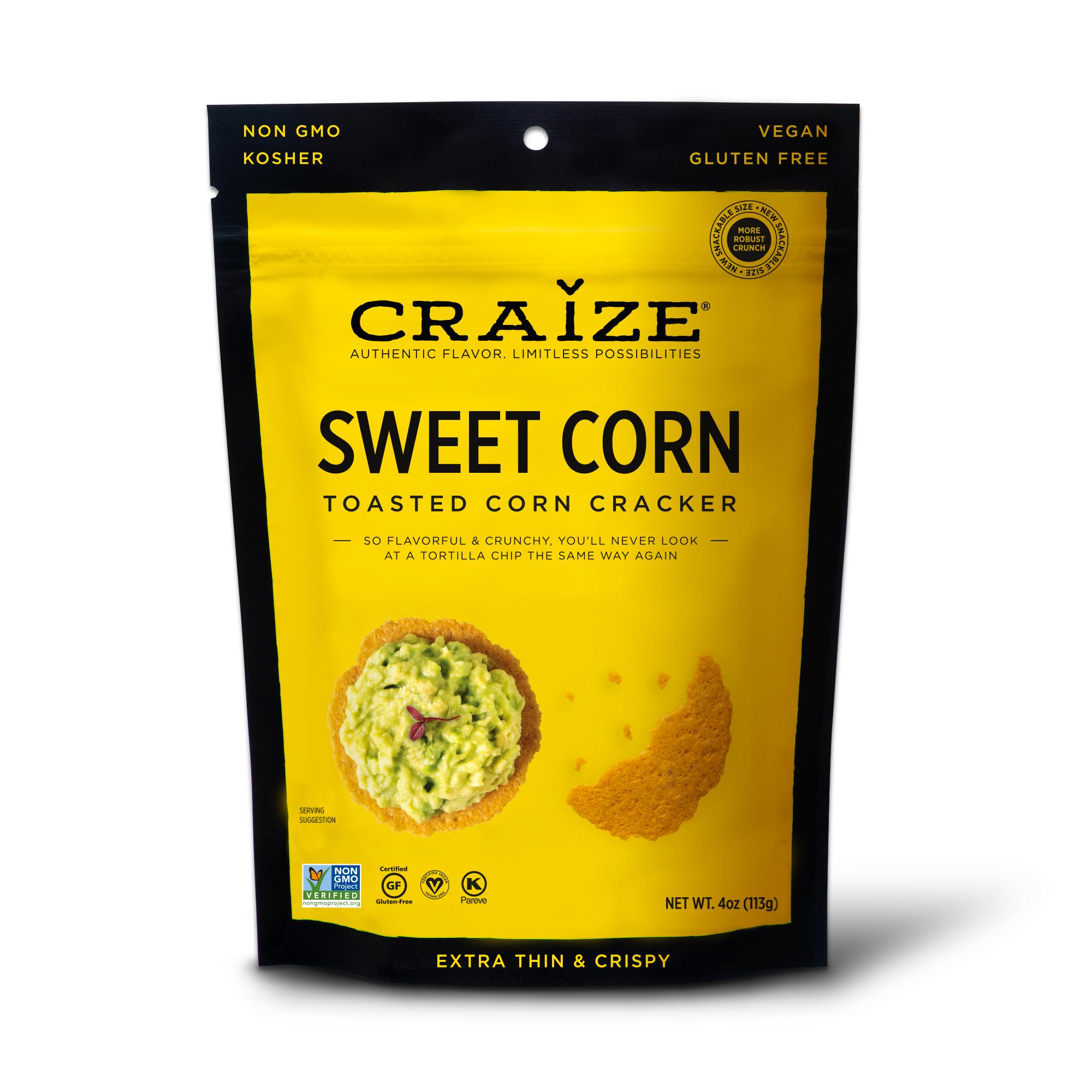 Sweet Toasted Corn Crackers 4oz | Trada Marketplace