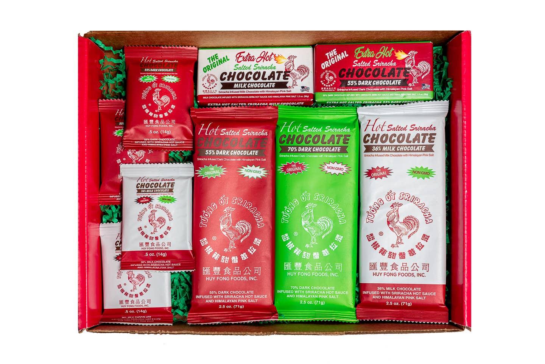 Sriracha Chocolate Lover's Gift Box   Trada Marketplace