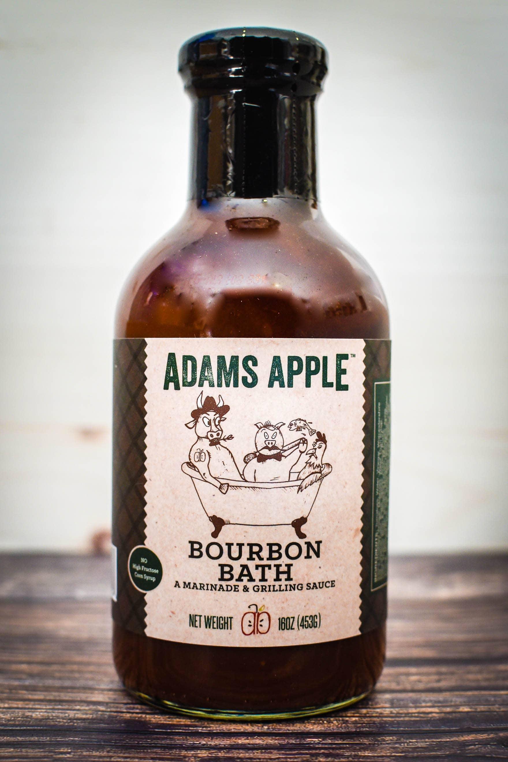 Adams Apple Bourbon Bath (A Marinade & Grilling Sauce) | Trada Marketplace