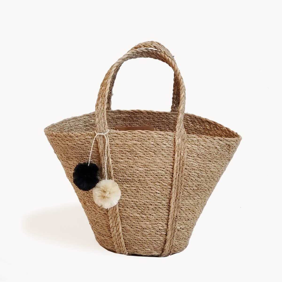 Savar Basket Tote | Trada Marketplace