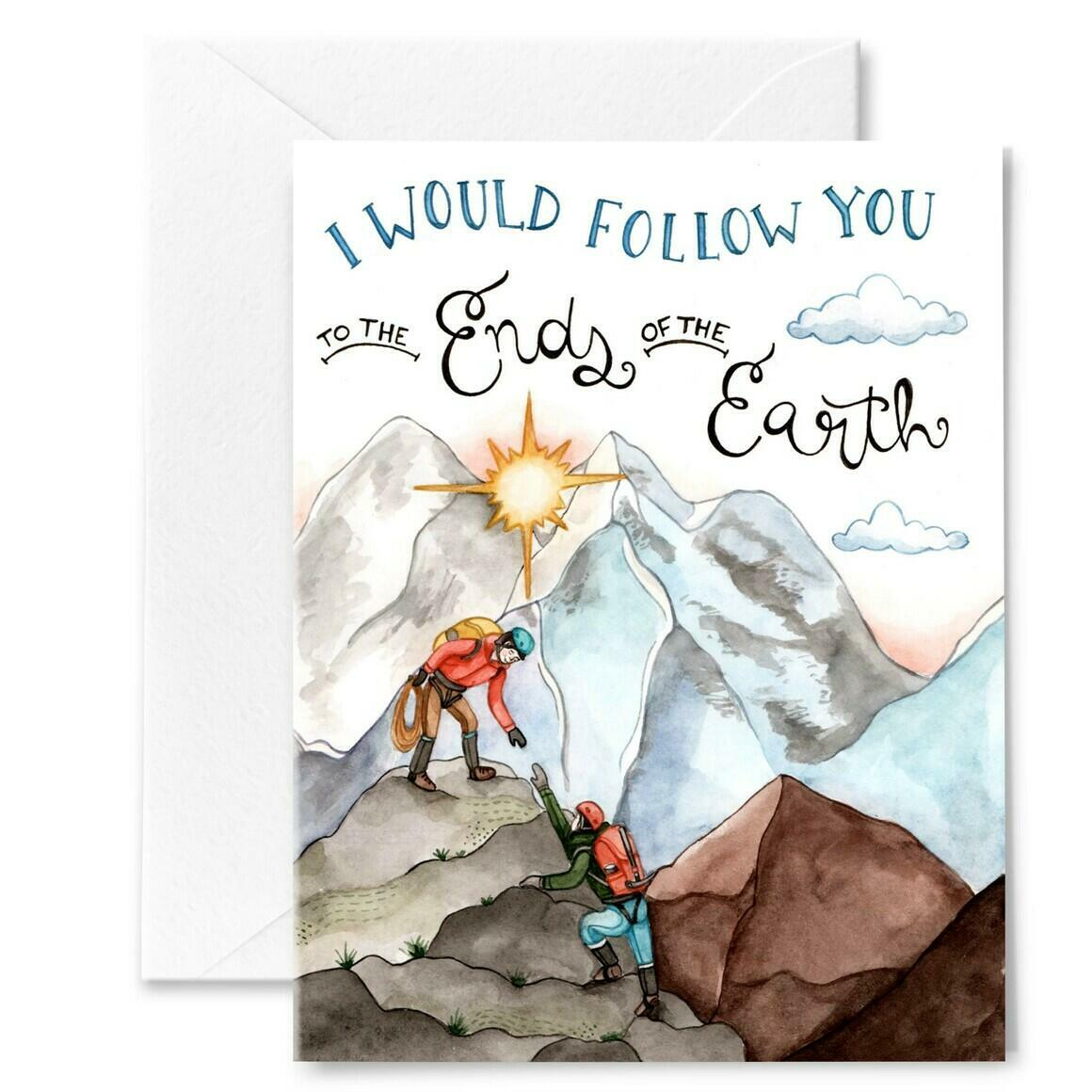 Ends of the Earth Love Card | Trada Marketplace