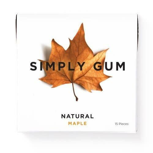 Maple Natural Chewing Gum | Trada Marketplace