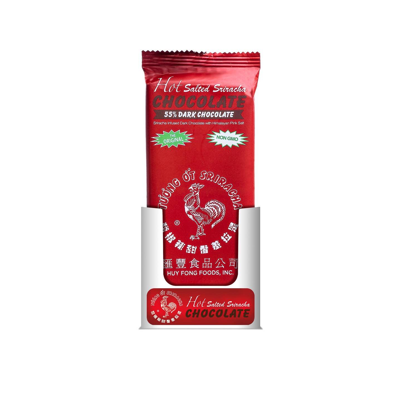 12 Pcs - 2.5oz Sriracha 55% Dark Chocolate Bar   Trada Marketplace