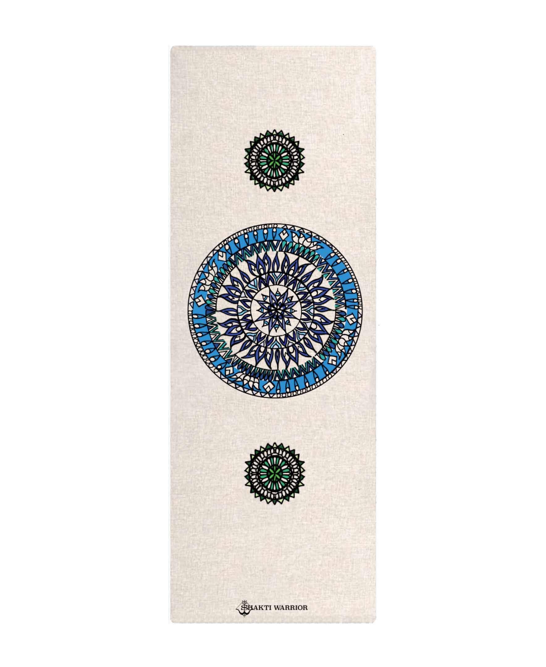 Mandala Hemp Yoga Mat | Trada Marketplace