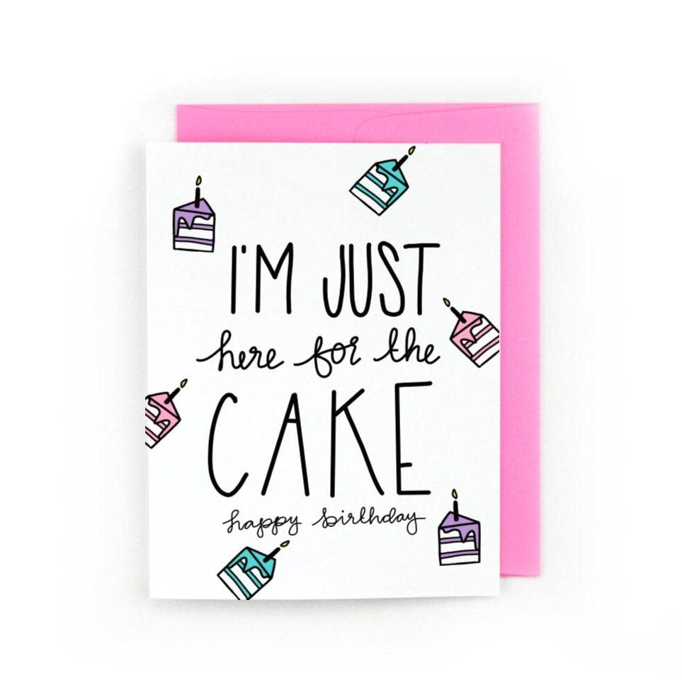 Just Here For The Cake | Trada Marketplace