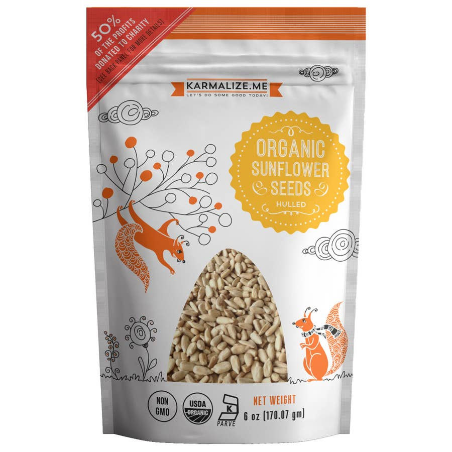 Organic Sunflower Seeds - 6 oz | Trada Marketplace