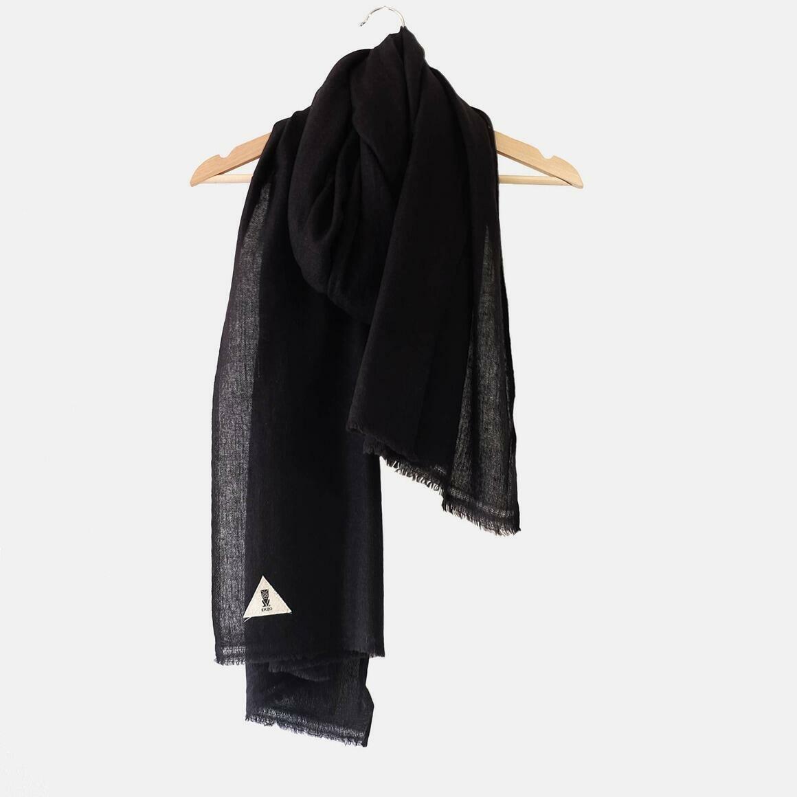 Cashmere Scarf Black | Trada Marketplace