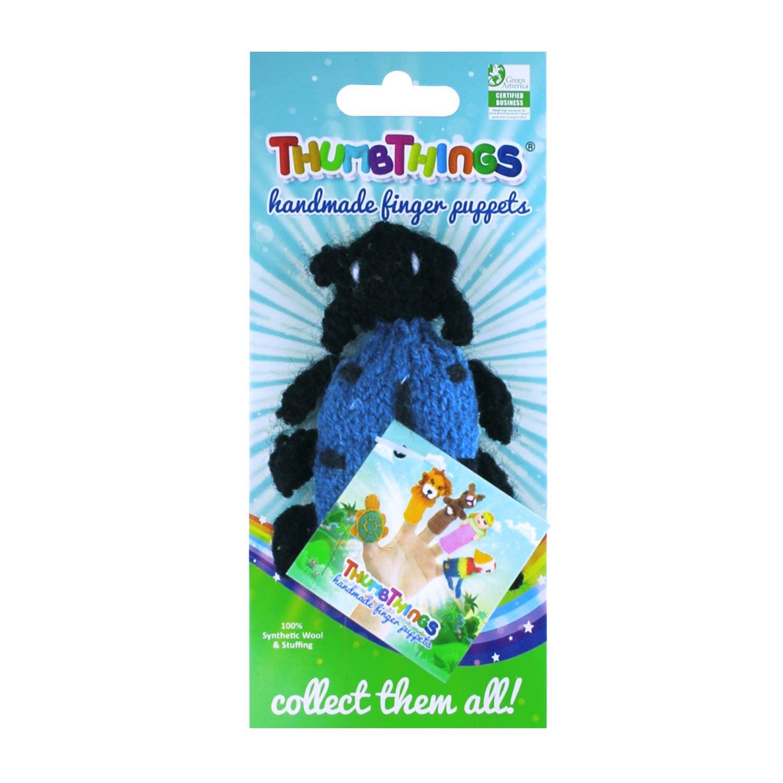 Blue Beetle Finger Puppet   Trada Marketplace