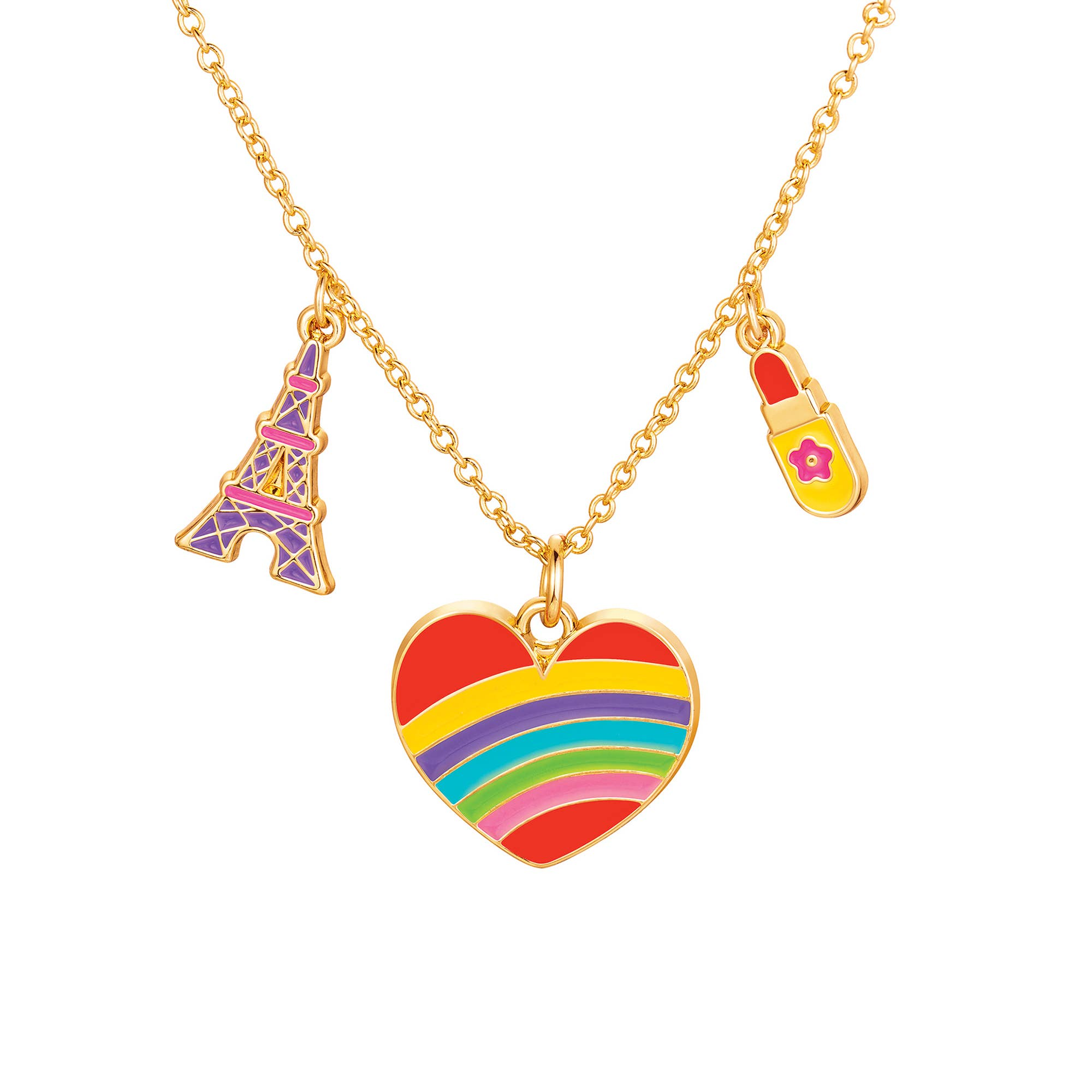 Charming Whimsy Necklace- Paris Heart | Trada Marketplace