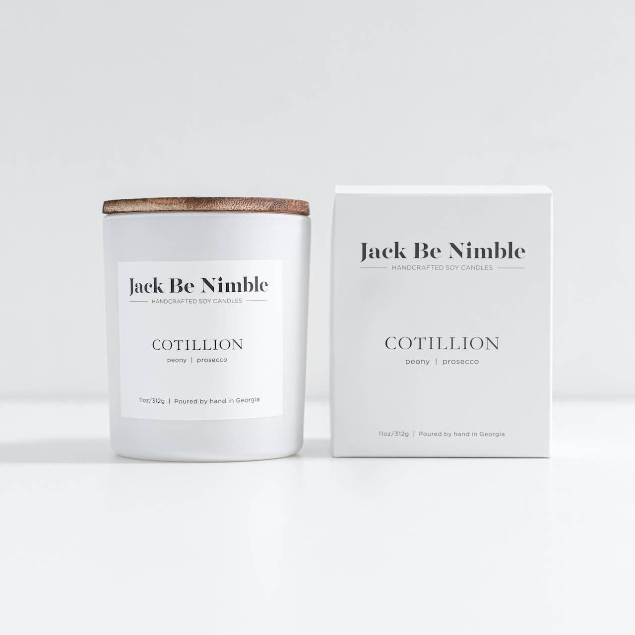11oz Cotillion Soy Candle | Trada Marketplace