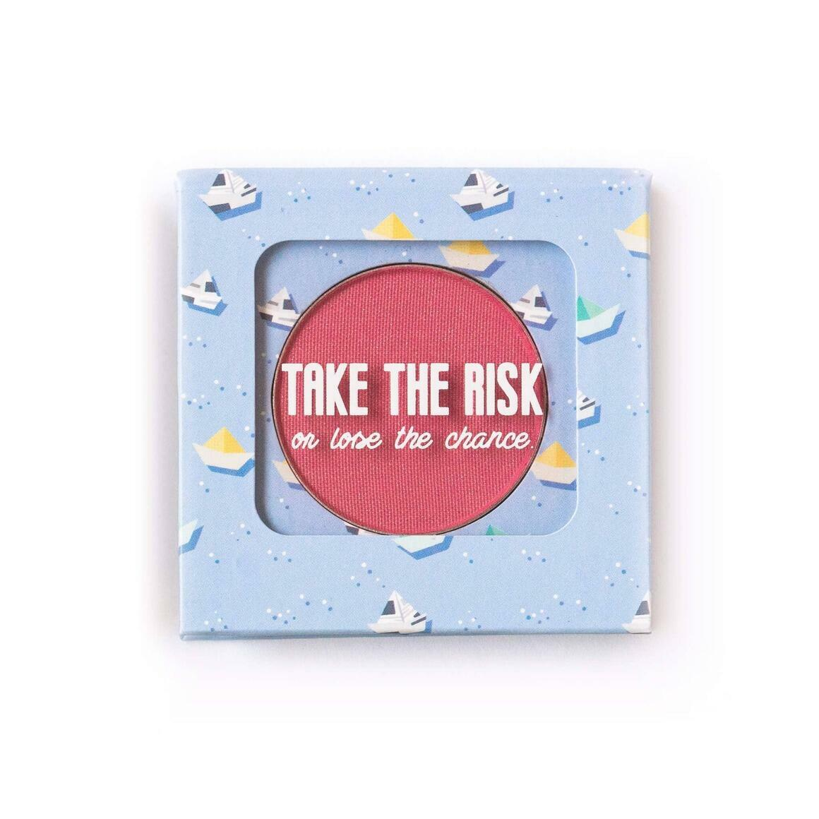 The Motto Blush - Take The Risk Or Lose The Chance   Trada Marketplace