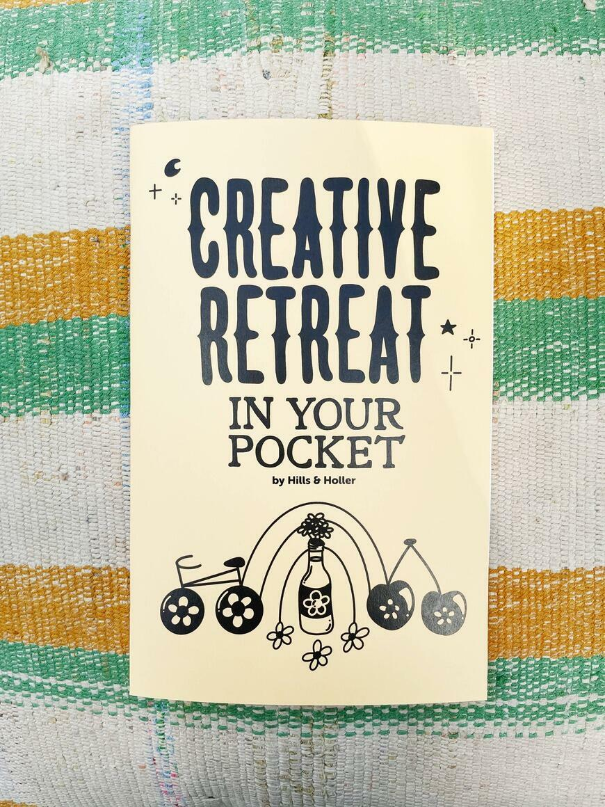 Creative Retreat In Your Pocket   Zine   Trada Marketplace