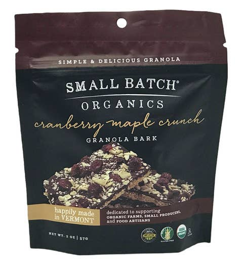 2oz Cranberry Maple Crunch Granola Bark | Trada Marketplace