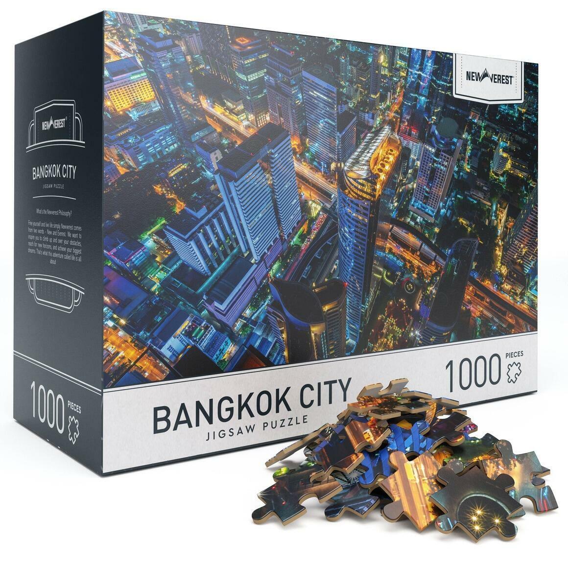 1000 pcs Newverest Bangkok City Jigsaw Puzzle | Trada Marketplace