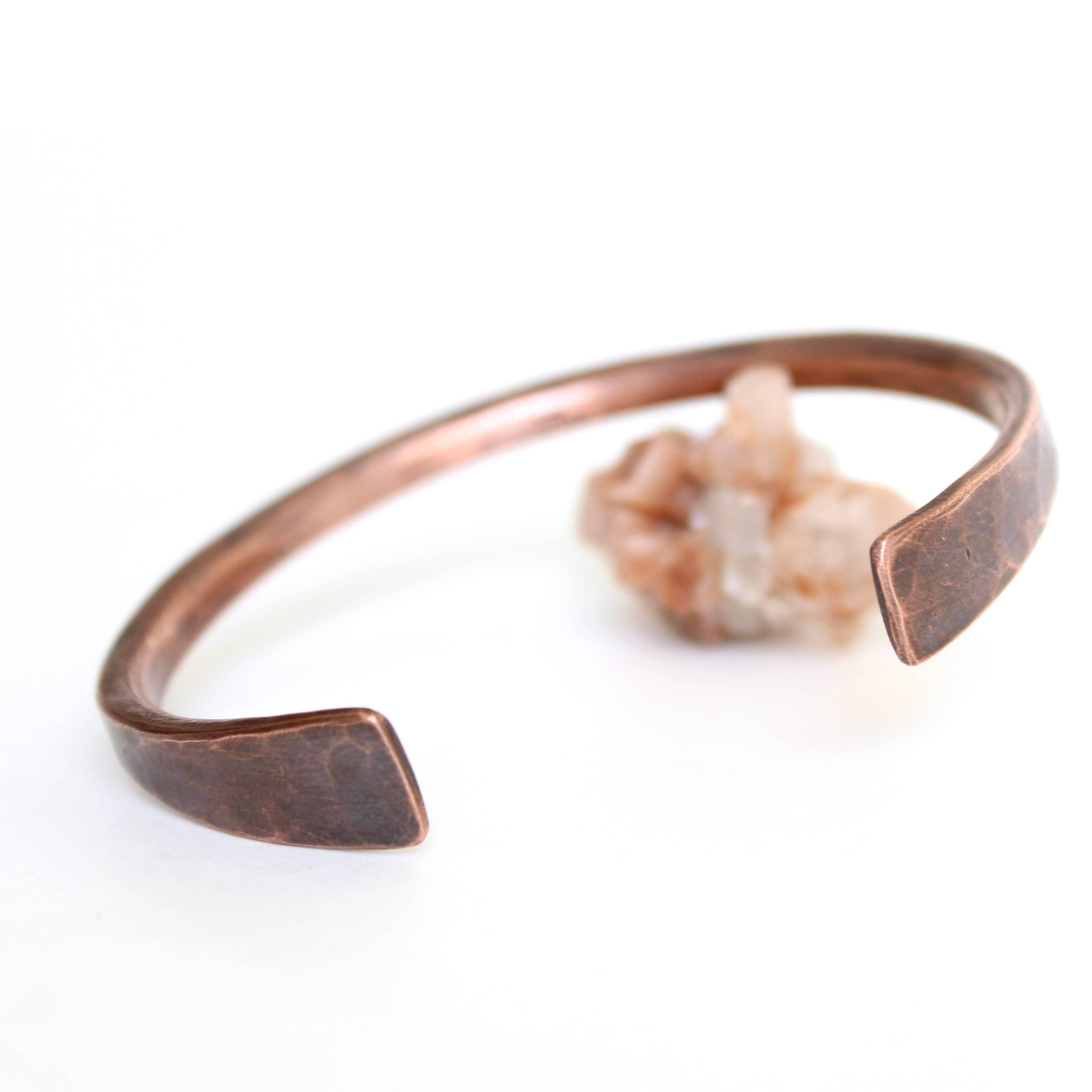 The Parisian Copper Cuff | Trada Marketplace