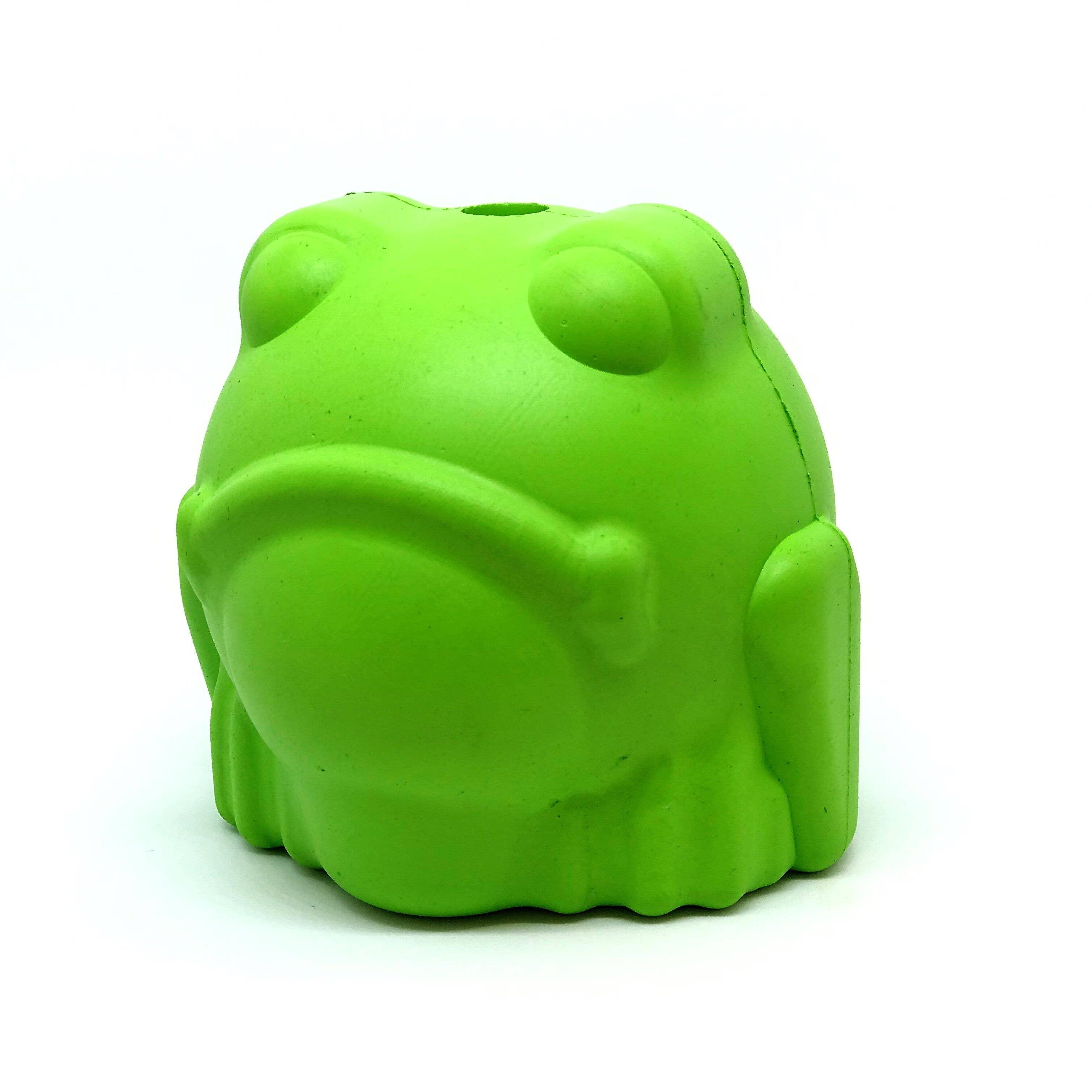 MKB Bull Frog - Chew Toy - Treat Dispenser - Green   Trada Marketplace