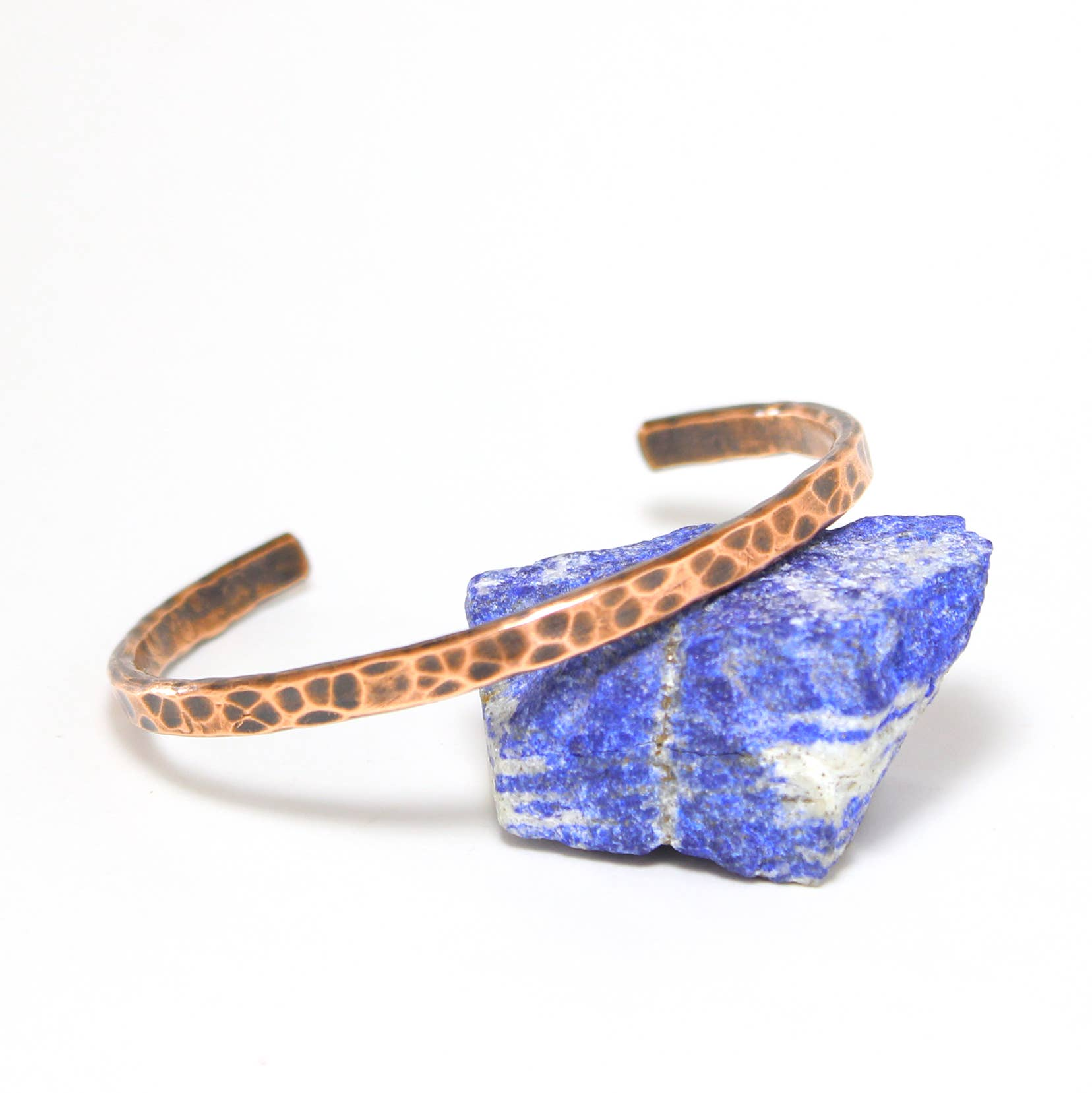 Everyday Wear Copper Cuff (heavily hammered) | Trada Marketplace