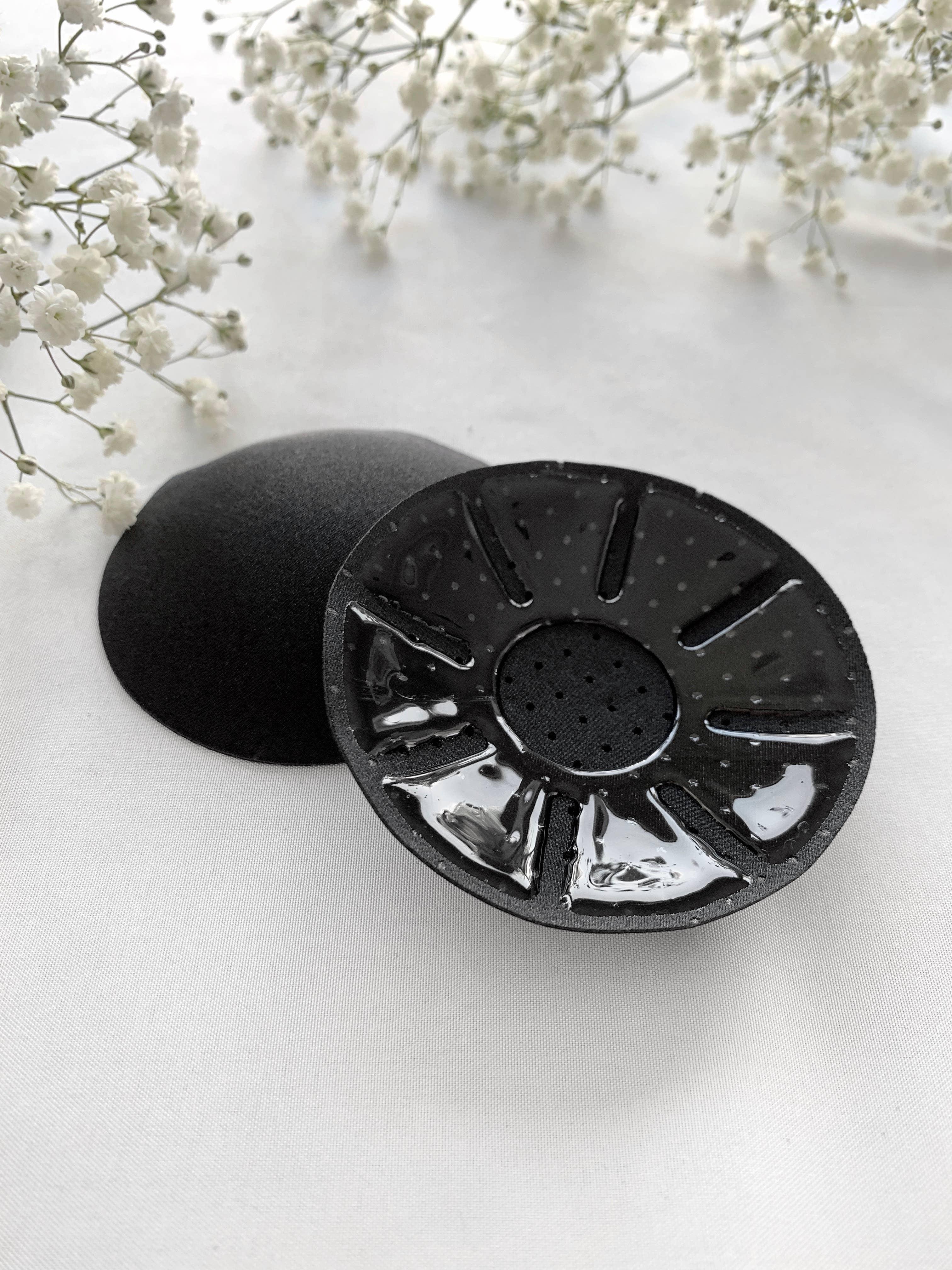 Circle Fabric Nipple Cover - Black | Trada Marketplace