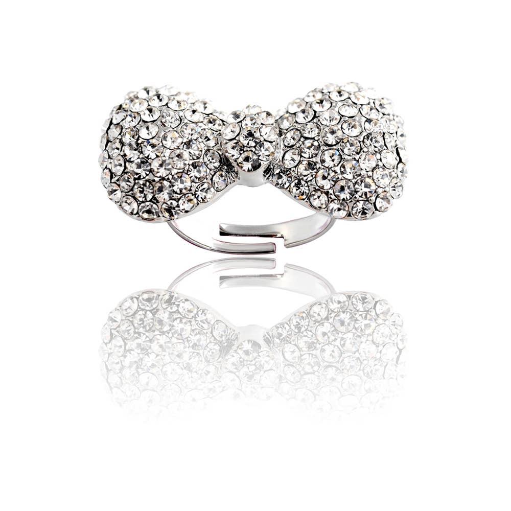Sale! Dazzle Girl- Bow Ring | Trada Marketplace