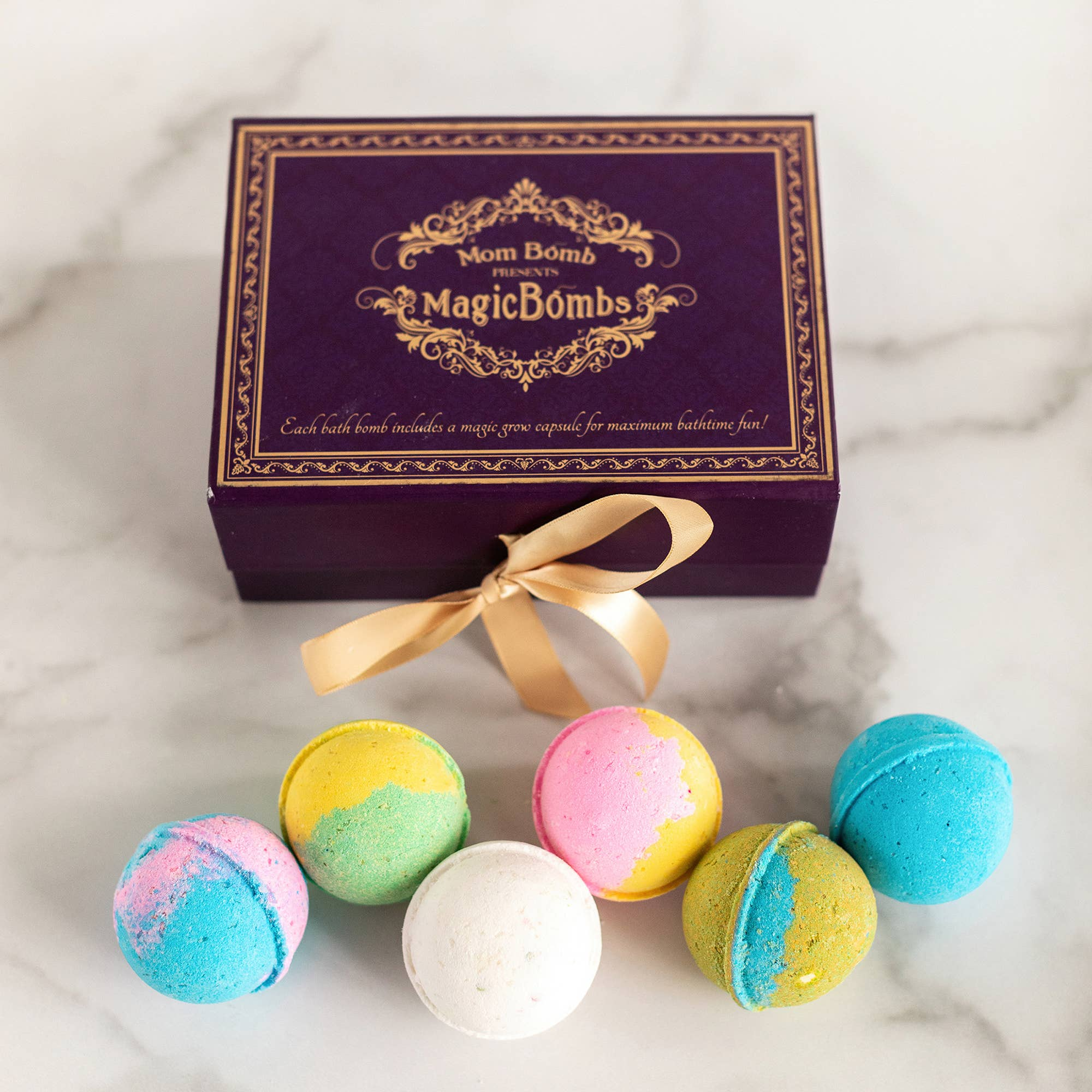 Bath Bomb Gift Set with Magic Surprise, Helps Moms in Need | Trada Marketplace