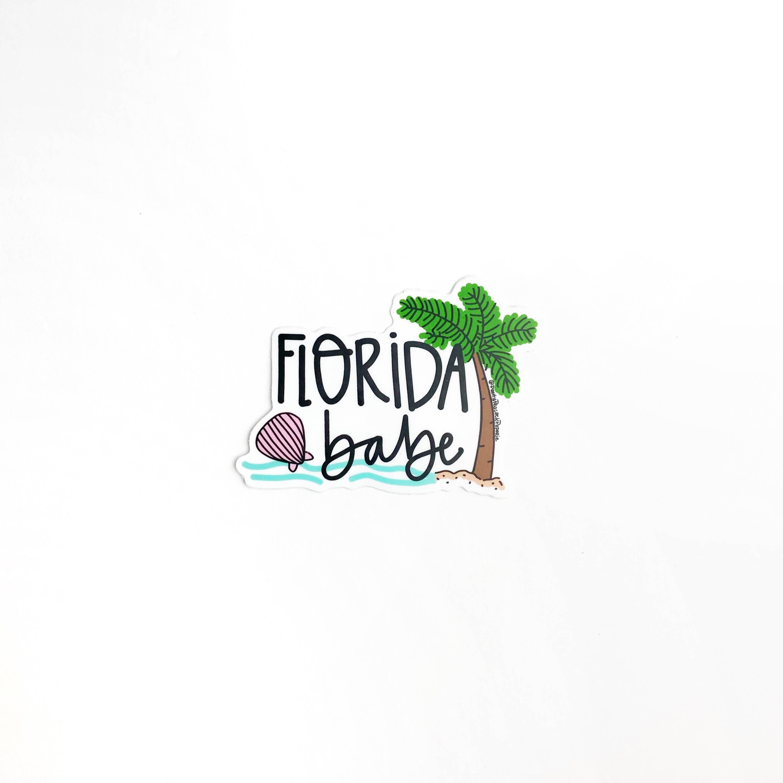 Florida Babe Sticker   Trada Marketplace