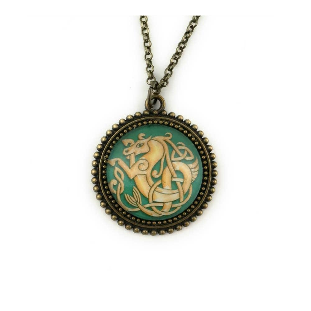 Celtic  Seahorse  Pendant | Trada Marketplace