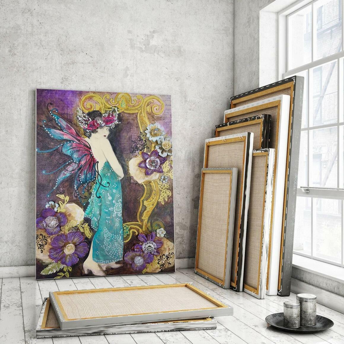 Frame Canvas Wrap Print   Trada Marketplace