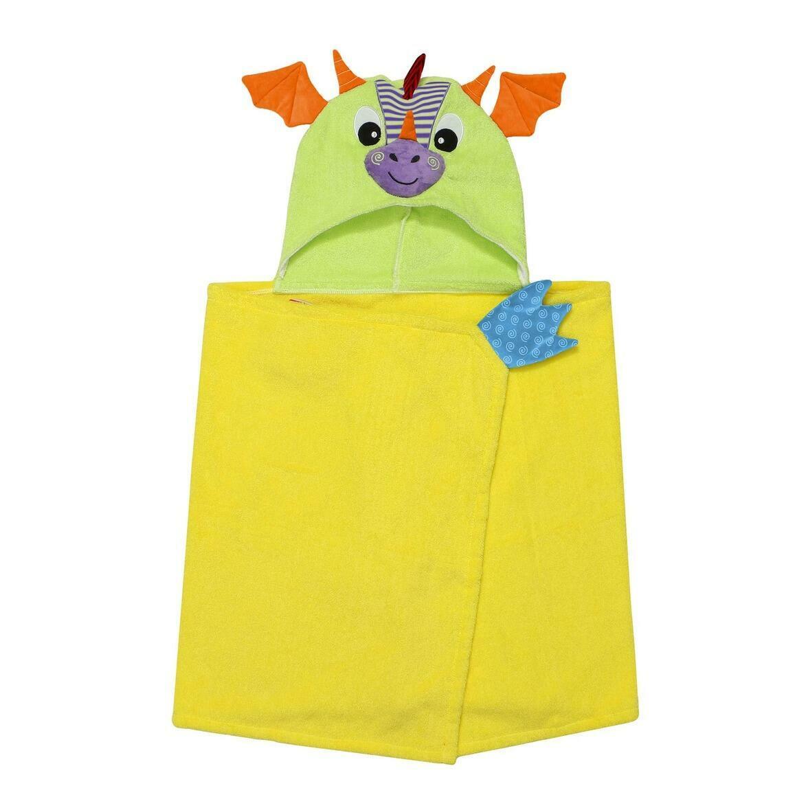 Kids Plus Terry Hooded Bath Towel Dragon 2Y+ | Trada Marketplace