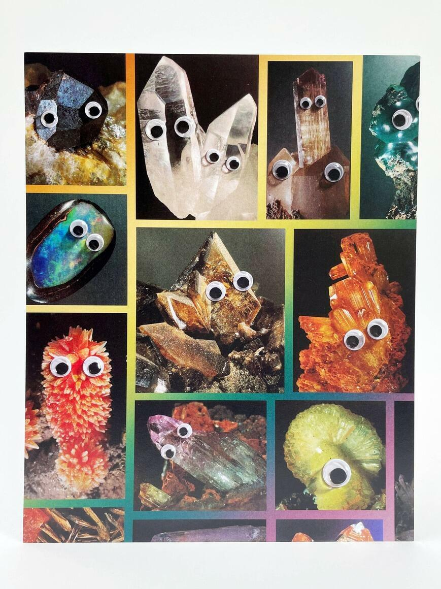 Wild Crystals   Art Print   Trada Marketplace