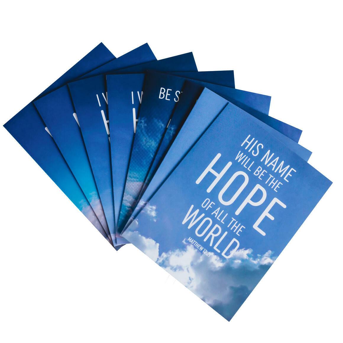 Hope Bible verse notecards   Trada Marketplace