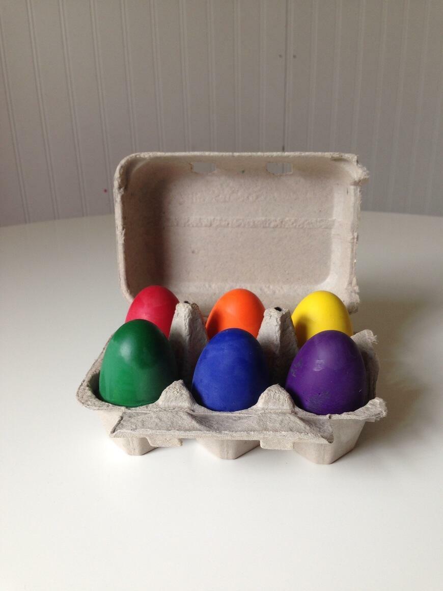 Egg Eco-Friendly Crayons | Trada Marketplace
