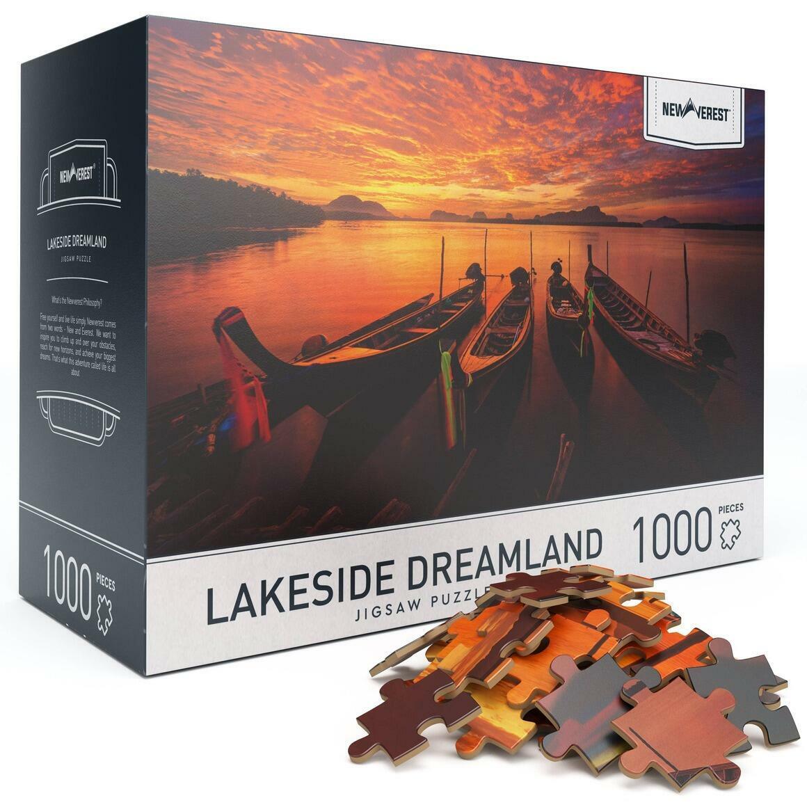 1000 pcs Newverest Lakeside Dreamland Jigsaw Puzzle | Trada Marketplace