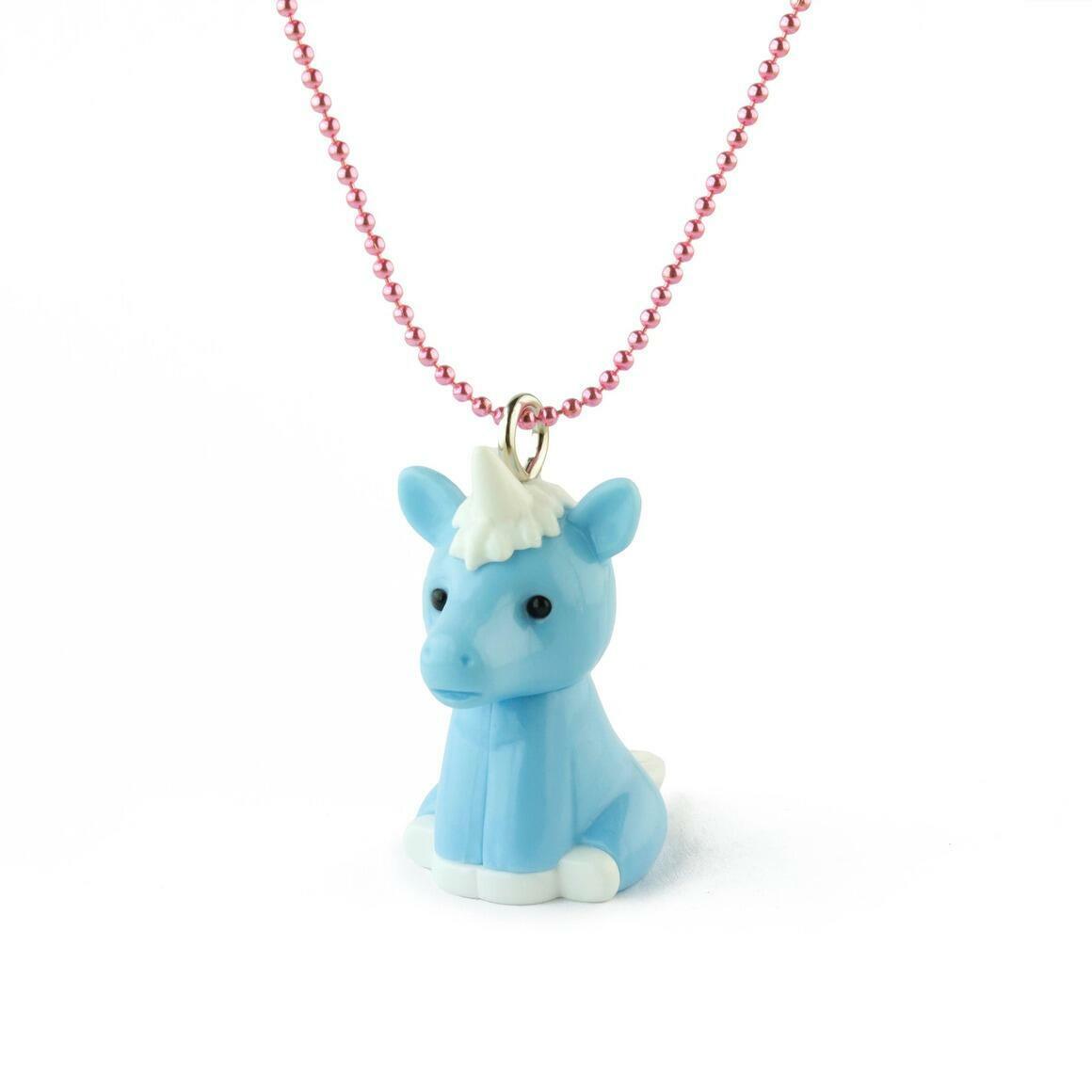 SALE! Pop Cutie X Iwako Blue Unicorn Kids Necklaces Value $7 | Trada Marketplace