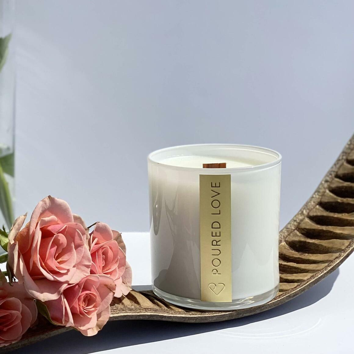 Botanical Garden- Scented Candle | Trada Marketplace
