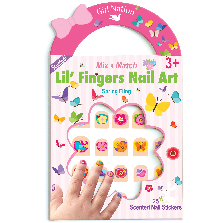 Lil' Fingers Nail Art- Spring Fling | Trada Marketplace