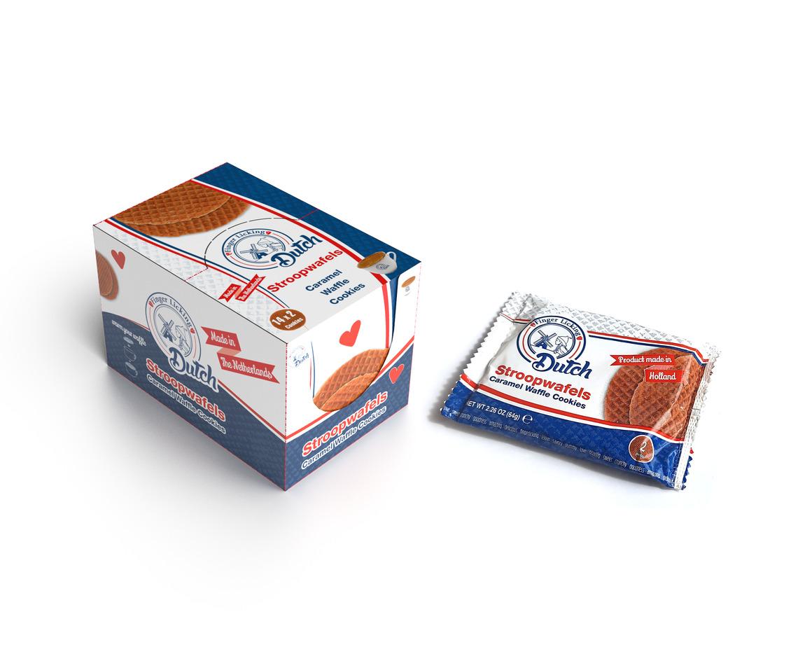 Caramel Stroopwafels - 28 DUO Packs   Trada Marketplace