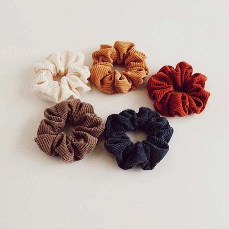 Large Corduroy Scrunchies | Trada Marketplace